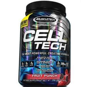 cel tech performance creatina veicolata per sviluppare forza e massa muscolare