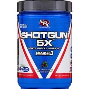 shotgun 5x 574g vpx nutrition pre workout volumizzante
