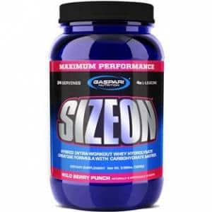 size on 1630g gaspari nutrition