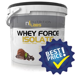 whey force isolate confezione risparmi, proteina isolata per scambio ionico e ultra filtrazione, ideale post workout