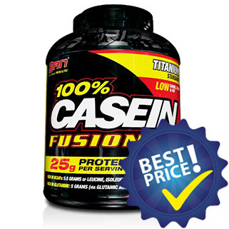 100% Casein Fusion 4.4 2016g San Nutrition