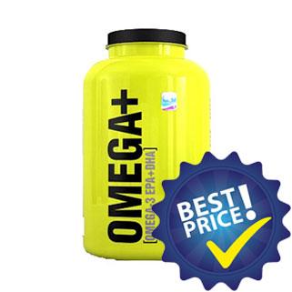 omega+ 100cps 4plus nutrition acidi grassi essenziali