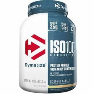 iso 100 dymatize proteina idrolizzata dal siero di latte