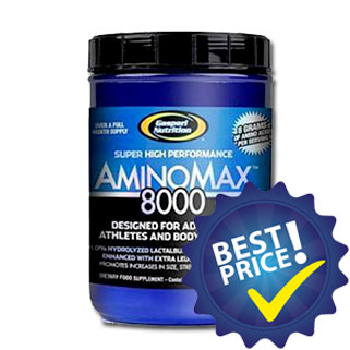 aminomax 8000 prodotto realizzato con amminoacidi essenziali arricchito con taurina, creatina e glutammina