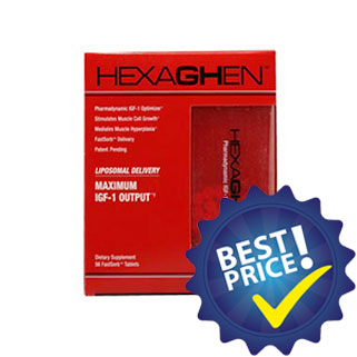 Hexaghen IGF-1 Optimizer 56cps musclemeds