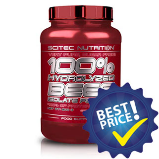 100% Hydrolyzed Beef Isolate Peptides 900g Scitec Nutrition