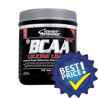 bcaa peak leucine loaded 330g inner armour