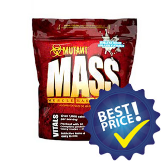 mutant mass 2,27kg weight gainer