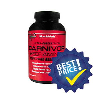 carnivor beef aminos 100 300cps musclemeds