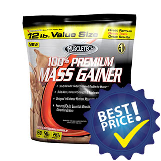 premium mass gainer 100 post workout ipercalorico muscletech