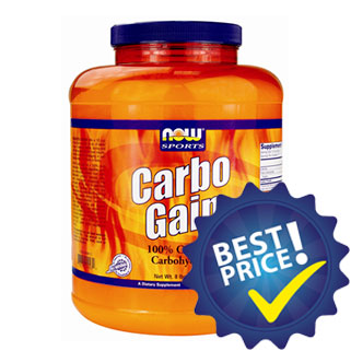 carbo gain 3,63kg now foods