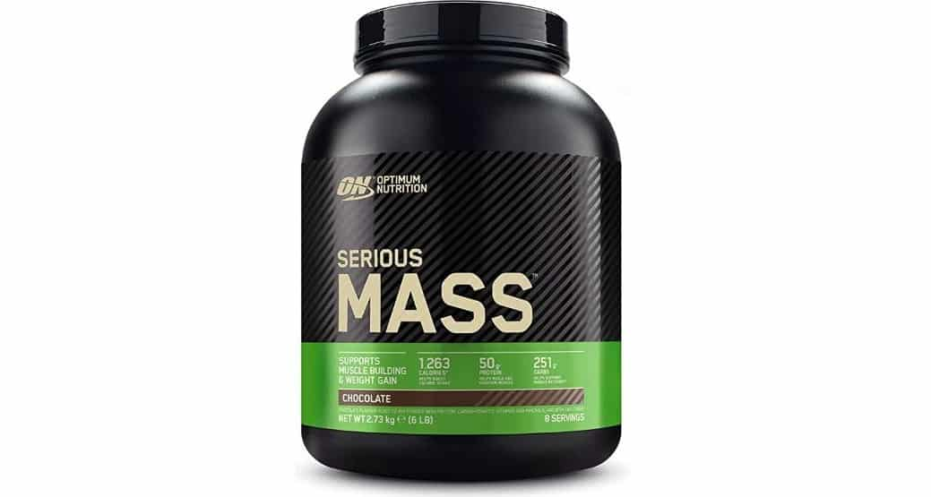 Serious Mass 2,73kg Optimum Nutrition