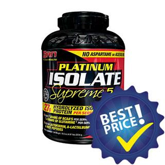 platinum isolate supreme proteina isolata a freddo