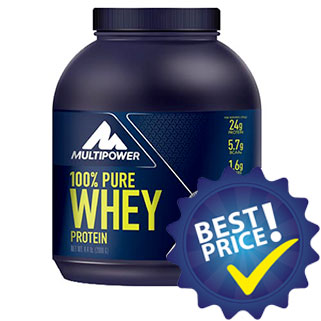 100% Pure Whey Protein 2kg Multipower