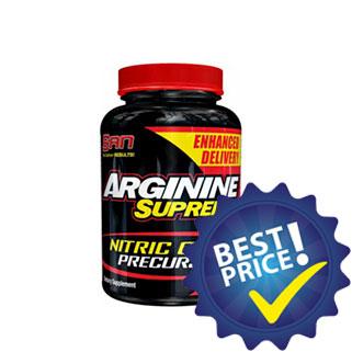 arginine supreme 100cps san nutrition