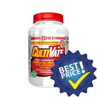 CultiVate Probiotic & Plant Enzyme integratore di probiotici ed enzimi digestivi