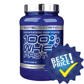 100 whey protein 920g scitec nutrition
