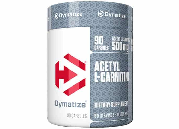 acetyl carnitina 90cps dymatize