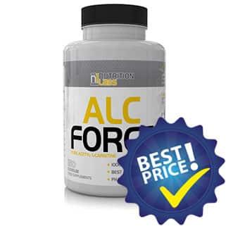 alc force 1000 milligrammi 150 capsule della nutrition labs, integratore di acetil carnitina pura, indicato come dimagrante ed energetico