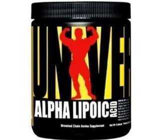 alpha lipoic acid 60cps universal nutrition acido alfa lipoico ala