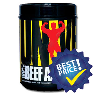 100 beef aminos 400cps universal nutrition