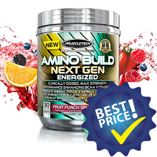 Amino Build Next Gen Energized 280g Muscletech
