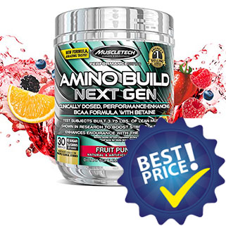 Amino Build Next Gen 279g Muscletech