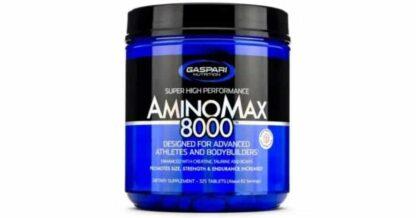 aminomax 8000 pool di amminoacidi essenziali per migliorare il recupero muscolare