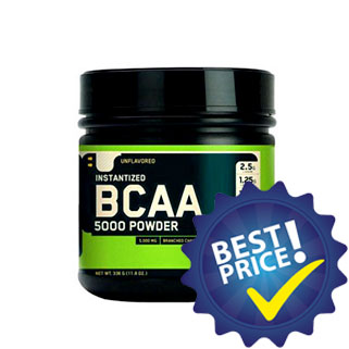 bcaa 5000 324g optimum nutrition