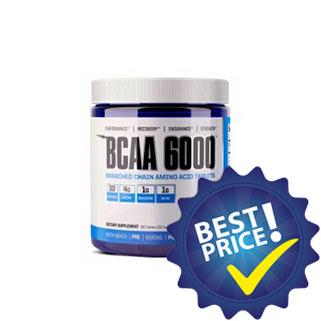 bcaa 6000 gaspari amminoacidi ramificati arricchiti con vitamina b6 e b12
