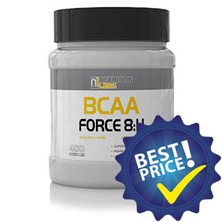 bcaa force 8:1:1 400cps nutrition labs