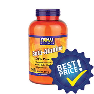 beta alanine powder 500g now foods