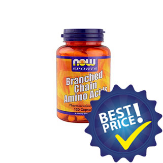 branched chain amino acid 120cps now foods