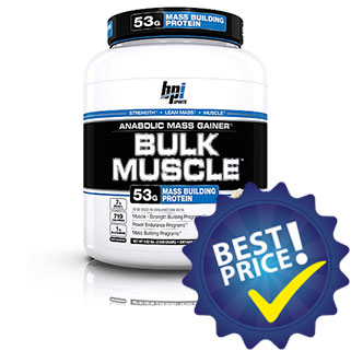 bulk muscle gainer 2,6kg bpi sports