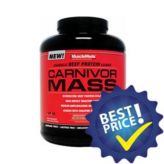 carnivor mass 2,58kg musclemeds
