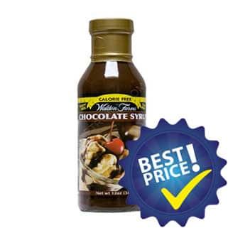chocolate syrup sciroppo ipocalorico da utilizzare come filler sui tuoi snack proteici e non solo