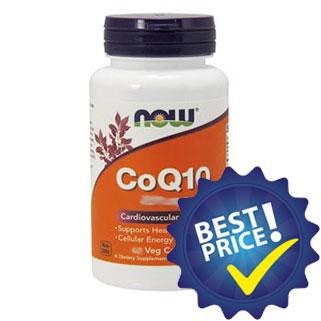 coenzima q10 100mg 30cps nowfoods