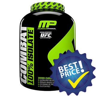 Combat 100% Isolate 1,8kg MusclePharm