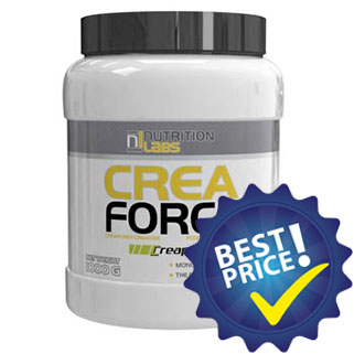 crea force 1kg nutrition labs creatina monoidrato creapure