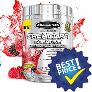 creacore creatine concentrated 256g muscletech