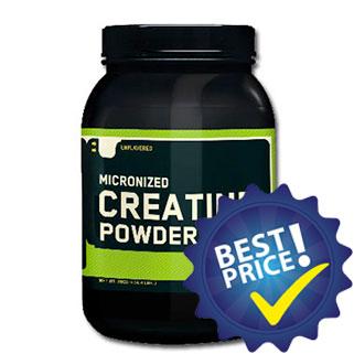 creatina powder micronized 600g optimum nutrition