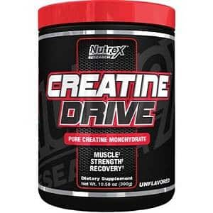 creatine drive black 300g nutrex research
