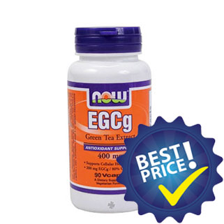 Gree Tea Extract EGCG 90cps now foods