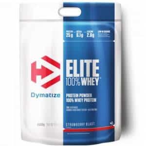 elite 100 whey dymatize proteina in polvere dal siero ottima post workout in confezione risparmio