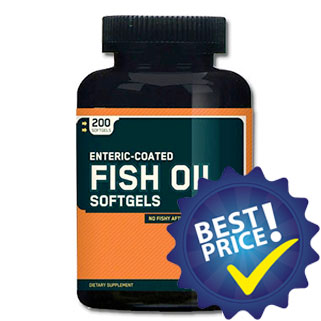 enteric fish oil 200 softgels optimum nutrition