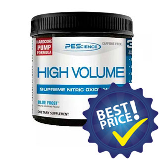 High Volume 252 gr PES Nutrition