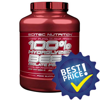 100% Hydrolyzed Beef Isolate Peptides 1,8kg Scitec Nutrition