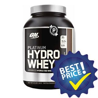 platinum hydrowhey 1590g optimum nutrition