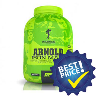 arnold iron mass 2,27kg musclepharm iron series