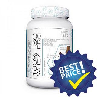 100% Iso Whey Pro 908gr PharmaPure